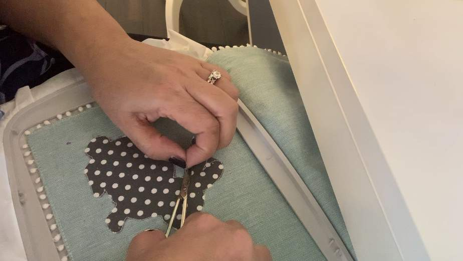 small applique scissors