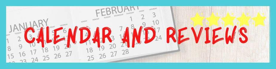 calendar and reviews