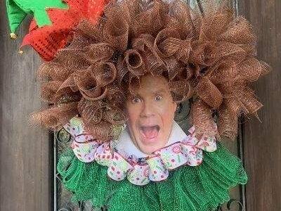 Buddy the Elf Wreath Tutorial