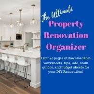 Property organizer for condo flipping or flipping of homes. Best Book for Flipping houses in an organized way