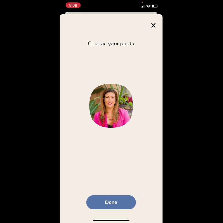 change your clubhouse app profile photo