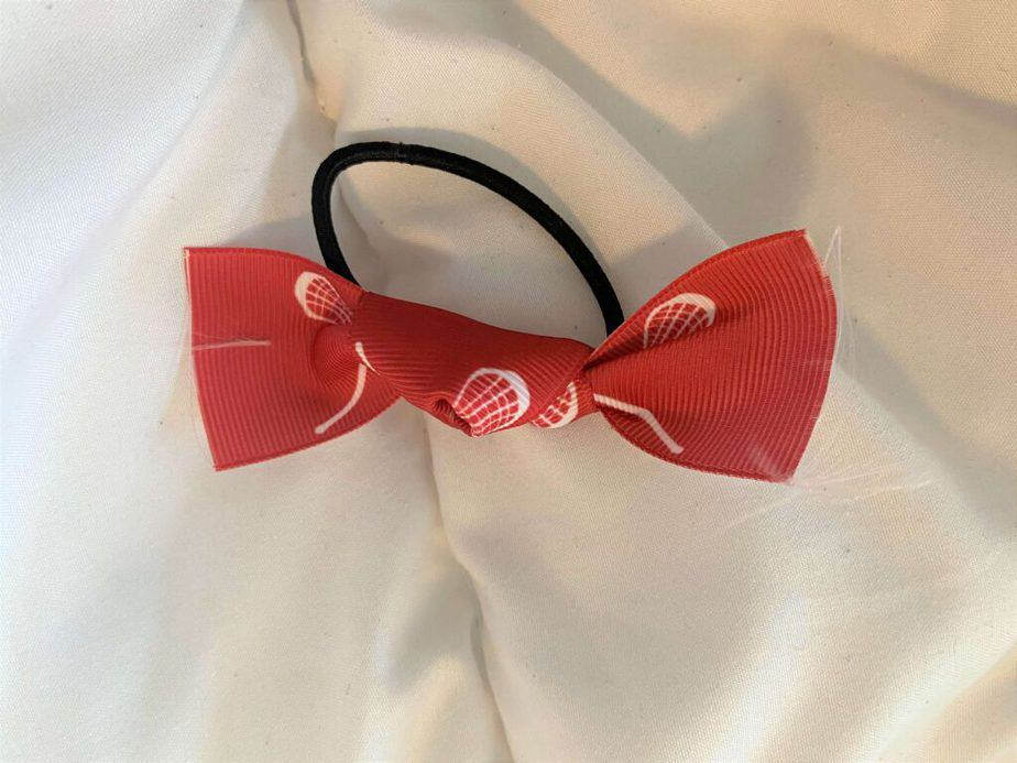 just tie a knot in this easy hair tie to make from ribbon