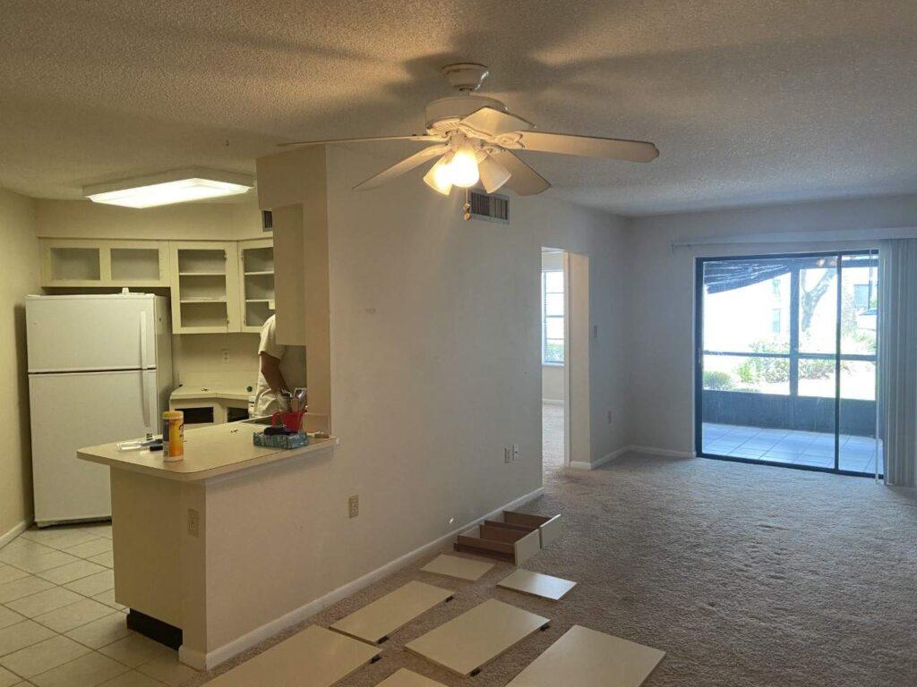 condo renovation in Orlando